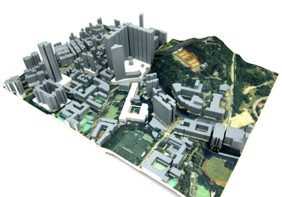 To Kwa Wan Cityscape Model Hk3dprint Professional 3d